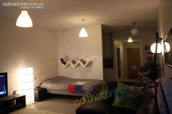 Thiết kế nội thất tinh tế Avalo- Căn hộ 42m2-Tiện nghi và ấm-02