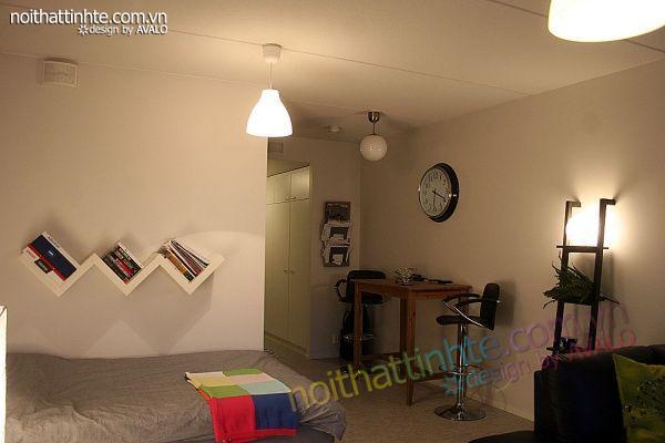 Thiết kế nội thất tinh tế Avalo- Căn hộ 42m2-Tiện nghi và ấm-04