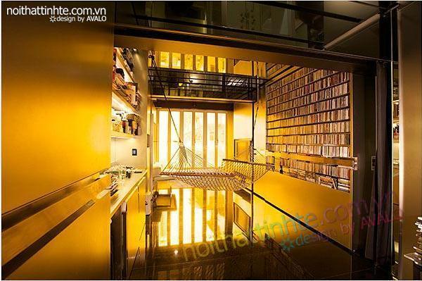 thiết kế nội thất sáng tạo căn hộ biến hình 02