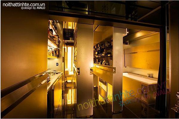 thiết kế nội thất sáng tạo căn hộ biến hình 04