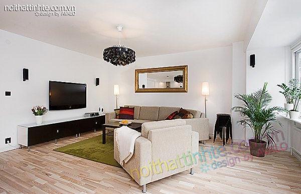 thiết kế nội thất chung cư trẻ trung tinh tế 04