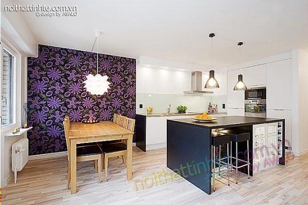 thiết kế nội thất chung cư trẻ trung tinh tế 12