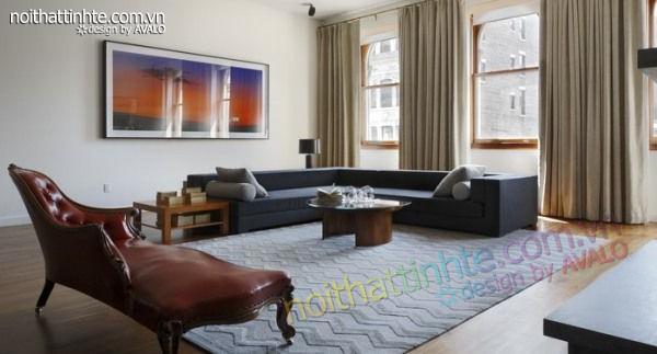 thiết kế nội thất chung cư phức hợp ở Manhattan 03