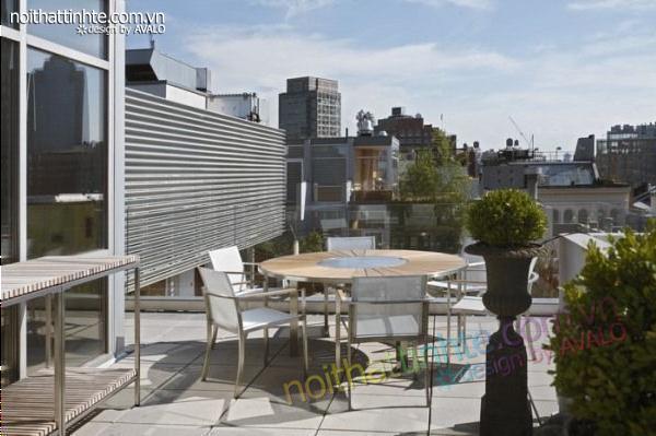 thiết kế nội thất chung cư phức hợp ở Manhattan 09