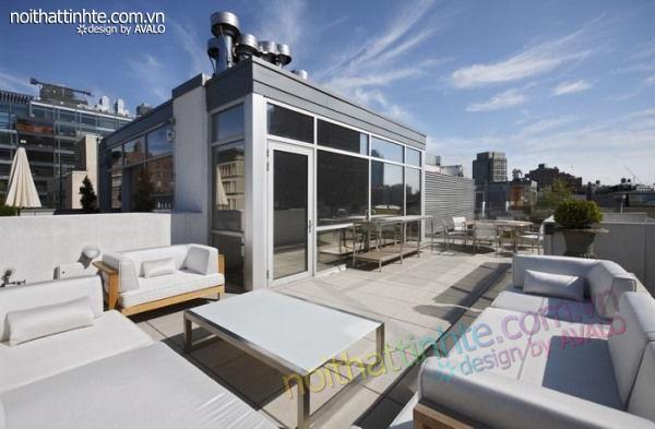 thiết kế nội thất chung cư phức hợp ở Manhattan 10