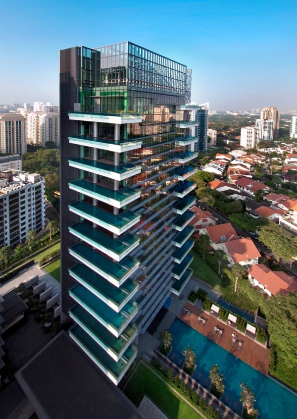 nội thất căn hộ Hermes Singapore 01