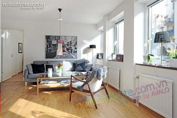 tính thẩm mỹ và công năng trong một thiết kế nội thất đương đại đẹp 12