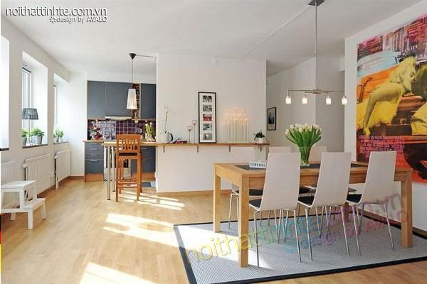 Tính thẩm mỹ và công năng trong một thiết kế nội thất đương đại đẹp 13