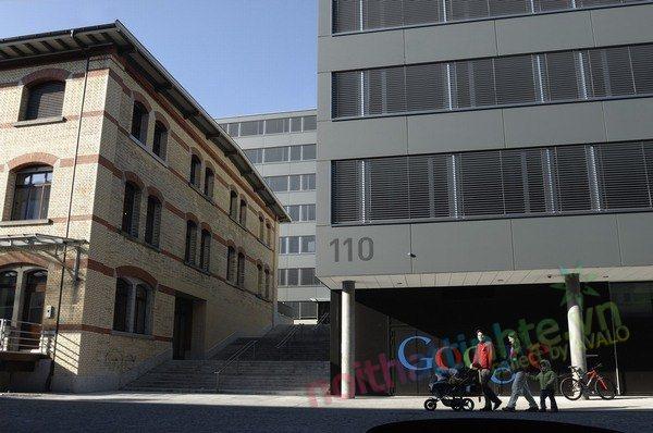 Văn phòng làm việc của Google EMEA 01