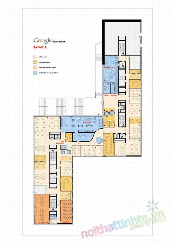 Văn phòng làm việc của Google EMEA 31
