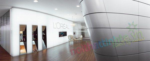 Thiết kế học viện L'oreal Kiev 03