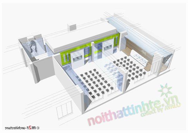 Thiết kế học viện L'oreal Kiev 12
