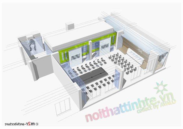 Thiết kế học viện L'oreal Kiev 15