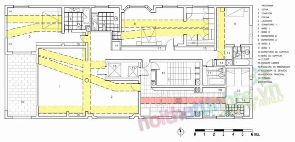 Thiết kế cải tạo chung cư sang trọng A.Vespucio 17