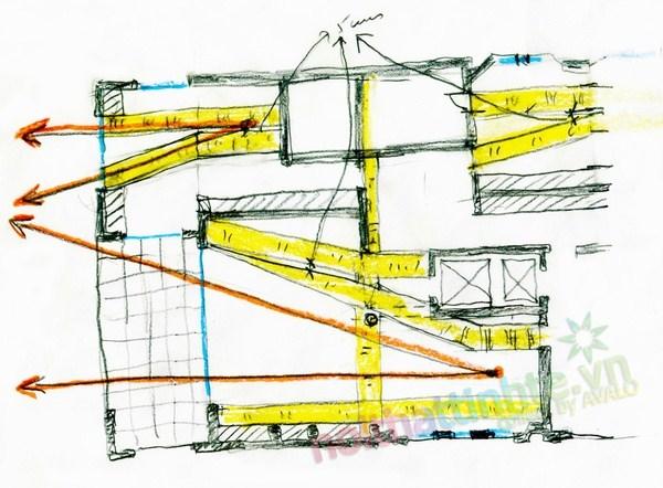 Thiết kế cải tạo chung cư sang trọng A.Vespucio 18