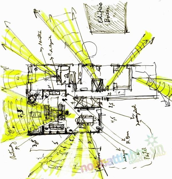Thiết kế cải tạo chung cư sang trọng A.Vespucio 19