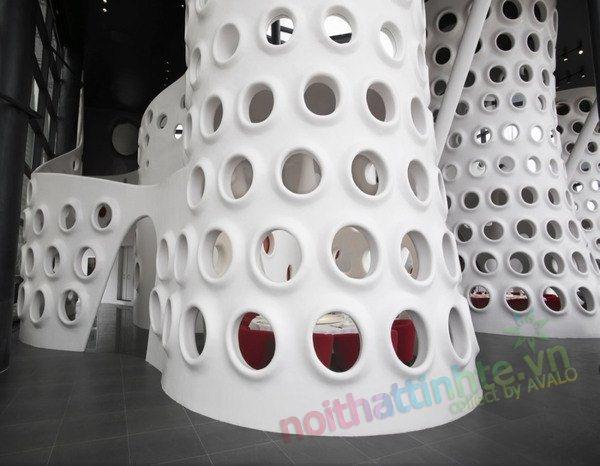 khong gian dep toa nha Honeycomb 08