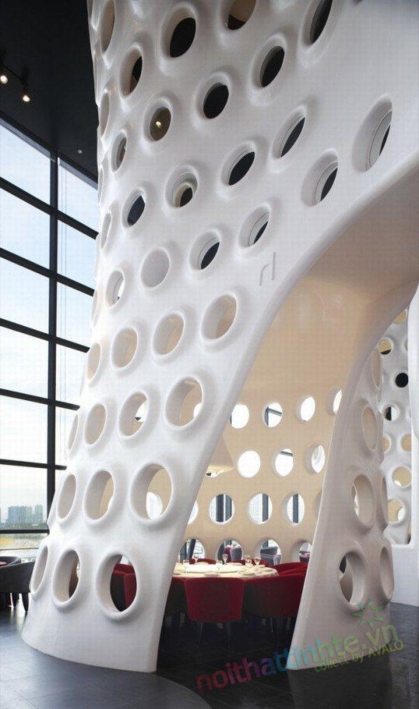 khong gian dep toa nha Honeycomb 15