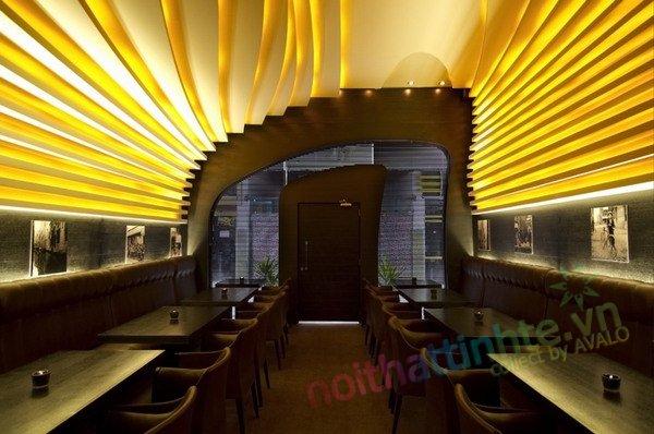 M coffe khong gian lang dong 12