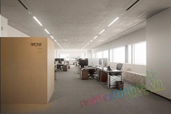 Thiết kế văn phòng WOW Sendai 01