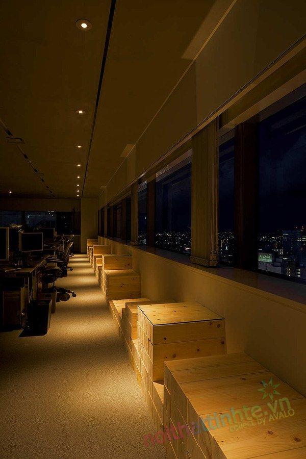 Thiết kế văn phòng WOW Sendai 13