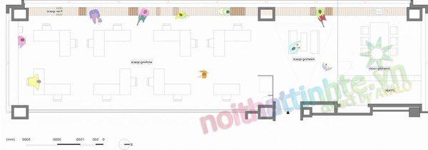 Thiết kế văn phòng WOW Sendai 16