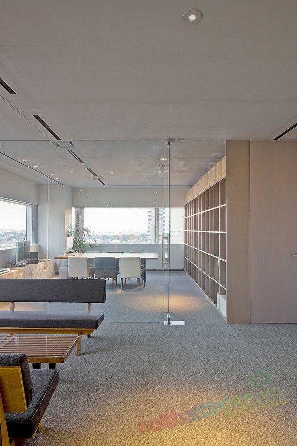 Thiết kế văn phòng WOW Sendai 03