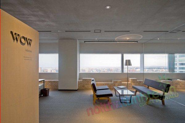 Thiết kế văn phòng WOW Sendai 06