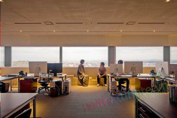 Thiết kế văn phòng WOW Sendai 08