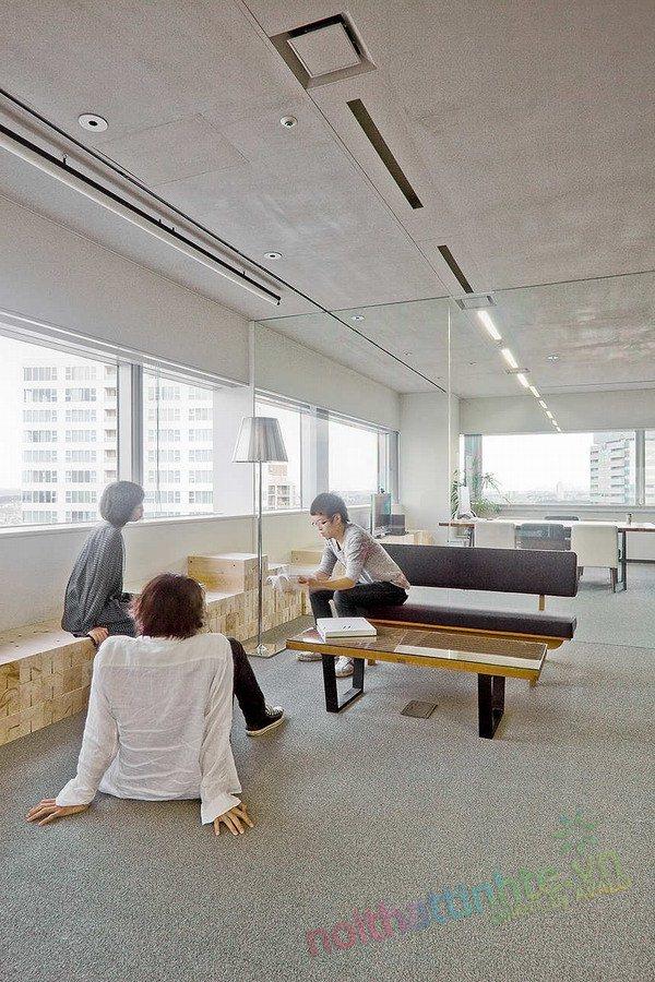 Thiết kế văn phòng WOW Sendai 09