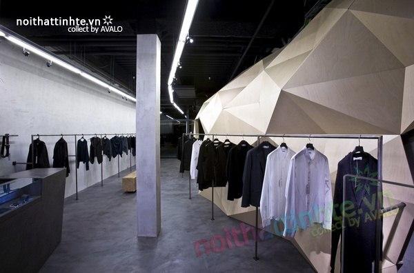 Thiết kế nội thất cửa hàng quần áo thời trang Lurder Bergada 10