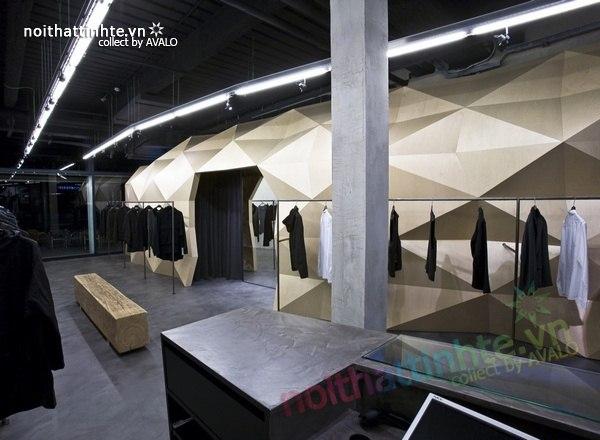 Thiết kế nội thất cửa hàng quần áo thời trang Lurder Bergada 11