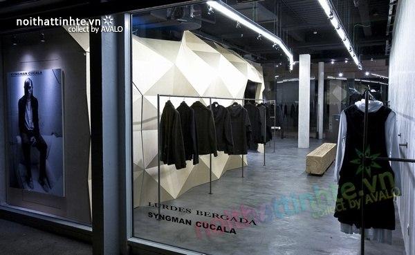 Thiết kế nội thất cửa hàng quần áo thời trang Lurder Bergada 12