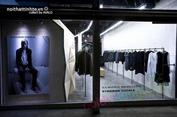 Thiết kế nội thất cửa hàng quần áo thời trang Lurder Bergada 13
