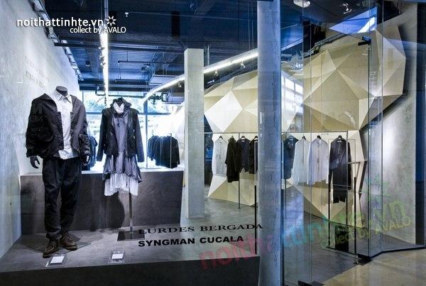 Thiết kế nội thất cửa hàng quần áo thời trang Lurder Bergada 14