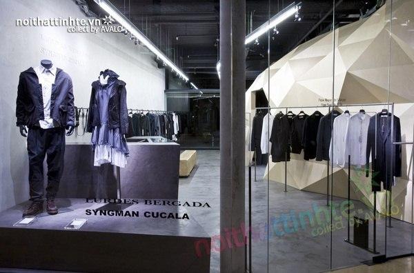 Thiết kế nội thất cửa hàng quần áo thời trang Lurder Bergada 02