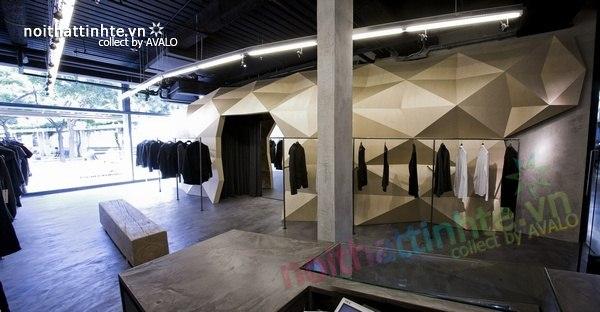 Thiết kế nội thất cửa hàng quần áo thời trang Lurder Bergada 03