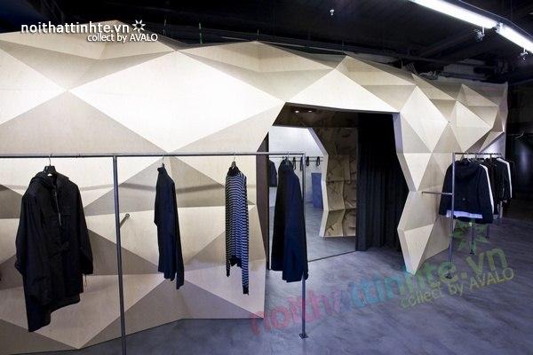 Thiết kế nội thất cửa hàng quần áo thời trang Lurder Bergada 04