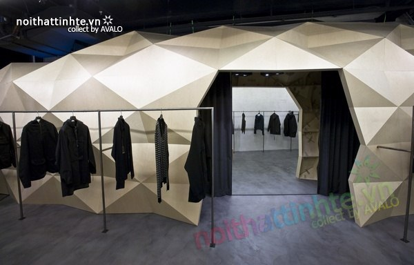 Thiết kế nội thất cửa hàng quần áo thời trang Lurder Bergada 05