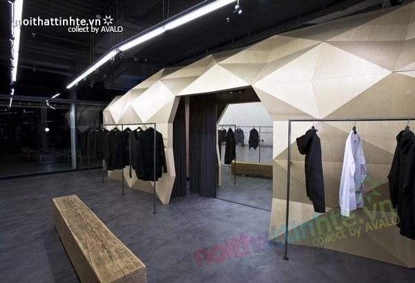 Thiết kế nội thất cửa hàng quần áo thời trang Lurder Bergada 06