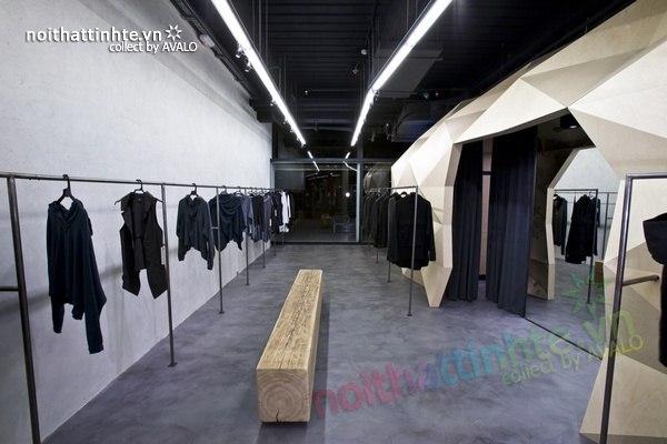 Thiết kế nội thất cửa hàng quần áo thời trang Lurder Bergada 07