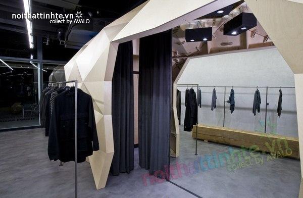 Thiết kế nội thất cửa hàng quần áo thời trang Lurder Bergada 08