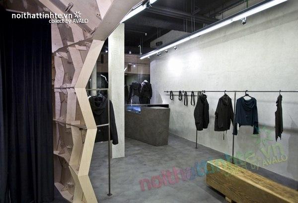 Thiết kế nội thất cửa hàng quần áo thời trang Lurder Bergada 09