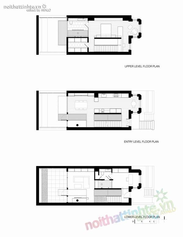 Mẫu thiết kế cải tạo nhà đẹp 3 tầng 10