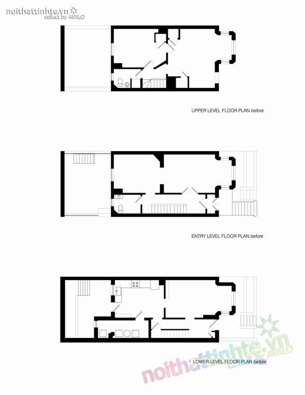 Mẫu thiết kế cải tạo nhà đẹp 3 tầng 09