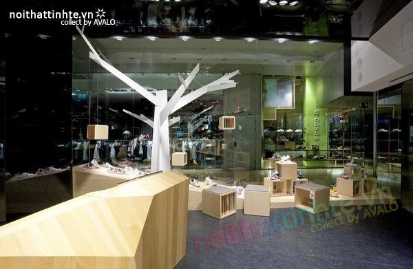 Thiết kế gian hàng giày | KTS Dear Design 03