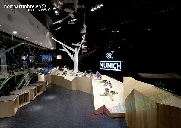 Thiết kế gian hàng giày | KTS Dear Design 04