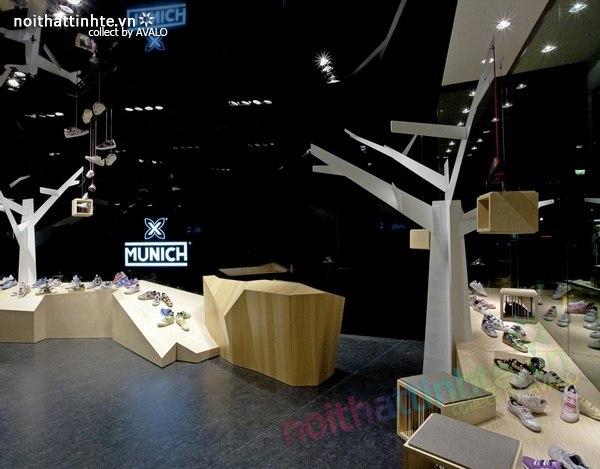Thiết kế gian hàng giày | KTS Dear Design 05