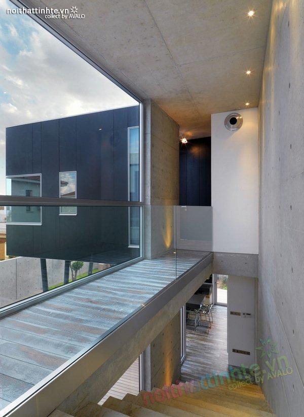Mẫu nhà phố đẹp với bể bơi trong nhà 17