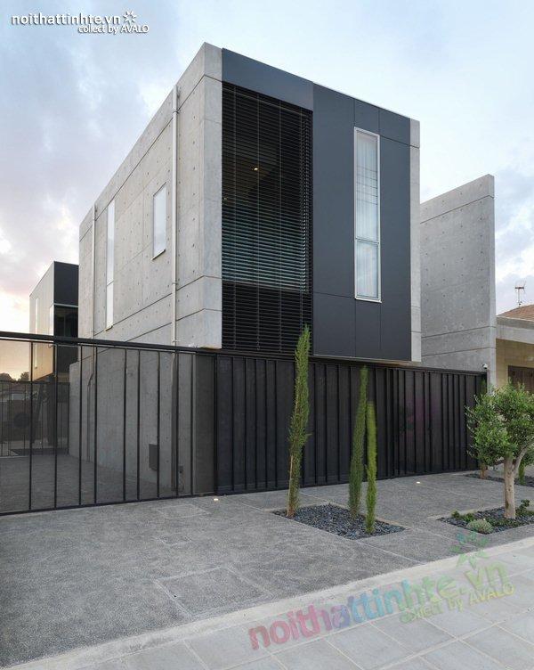 Mẫu nhà phố đẹp với bể bơi trong nhà 03
